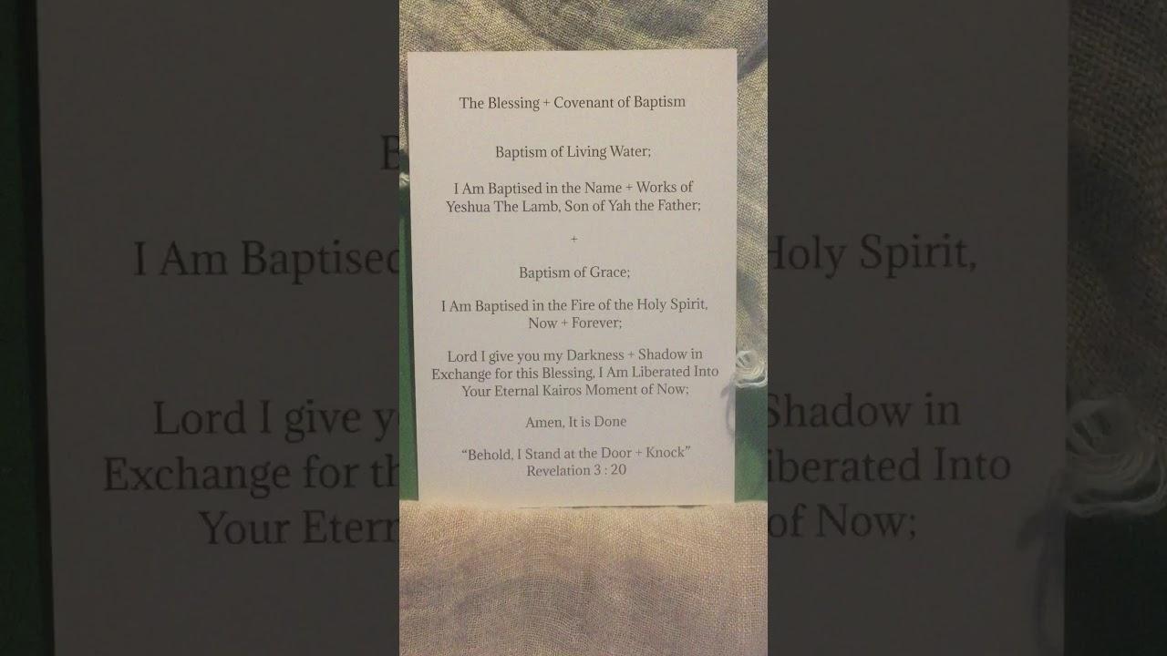 Water + Grace 2020 Baptism Emergency - YouTube