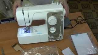 Brother LX 1700 швейная машинка(Brother LX 1700 швейная машинка распаковка, комплектация с диском где указаны все операции выполняемые этой машин..., 2014-07-15T17:25:35.000Z)