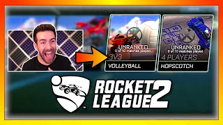 I trolled YouTubers that I got Rocket League 2
