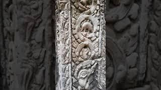 Удивительные сцены со стен храма Та Пром в Камбодже