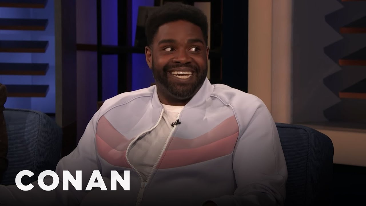 Download Ron Funches Got Free Pot For Fighting Racism | CONAN on TBS