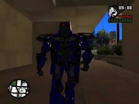 GTA SA Aance Proyecto Transformers 4 AOE Pack SENTINEL KSI