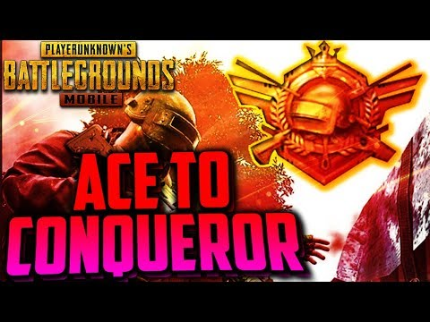 PUBG MOBILE  ACE to CONQUEROR  RUSH GAMEPLAY  ONLY CHICKEN DINNER 200k SOON😍