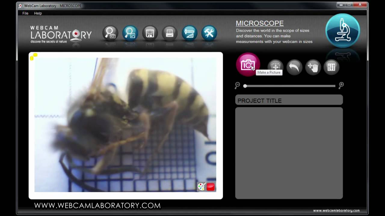 Microscope webcam laboratory youtube