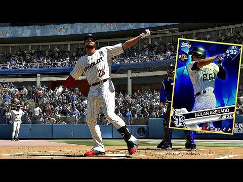 NOLAN ARENADO IS GOING BEAST MODE!! MLB The Show 17 Diamond Dynasty
