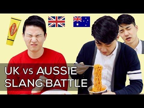 UK Vs Aussie Slang Words Challenge | British English Vs Australian English