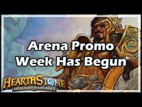 [Hearthstone] Arena Promo Week Has Begun