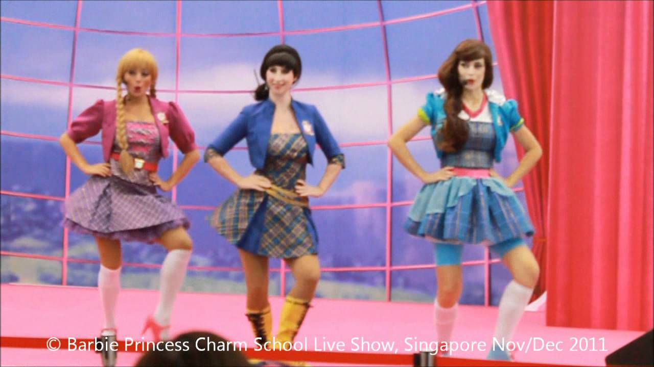 Barbie Princess Charm School : You Can Tell Sheu0027s A Princess   YouTube