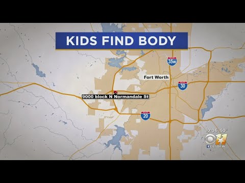 Children Find Body While Playing Outside At Fort Worth Apartments