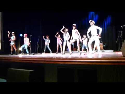 Incredible Cuban School kids salsa dancing. Havana Cuba