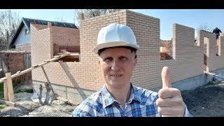 Обзор строительства дома из кирпича