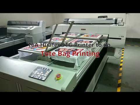 HFTX-T6A T-shirt Printing Industrial DTG Printer Machine