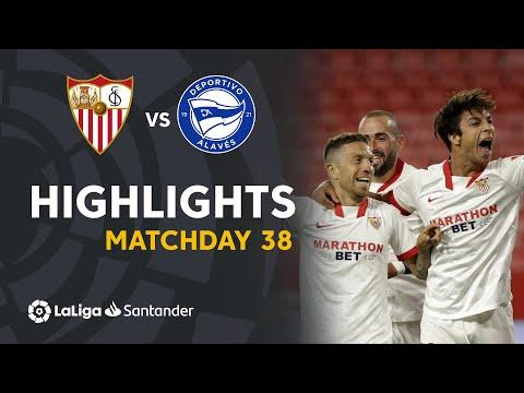 Sevilla Alaves Goals And Highlights