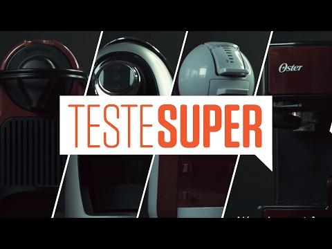 Teste SUPER #1- Máquinas de Café Expresso