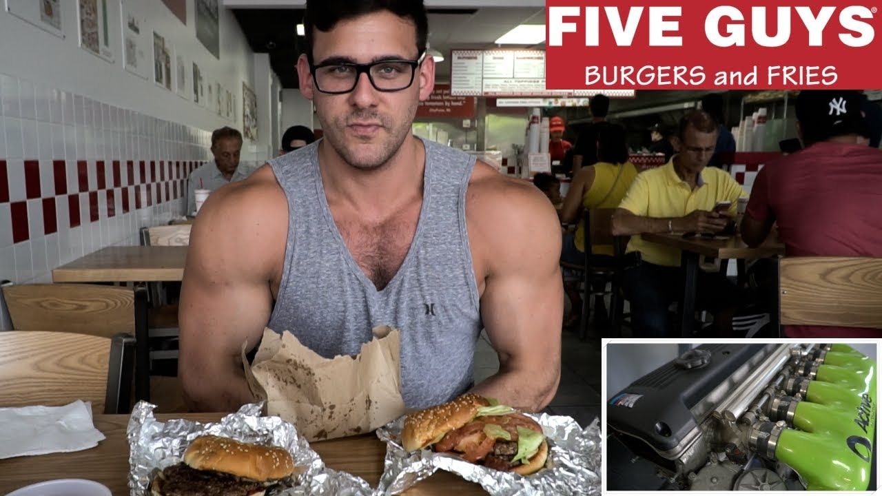Epic 5 Guys Cheat Meal How Many Calories Car Shop Footage