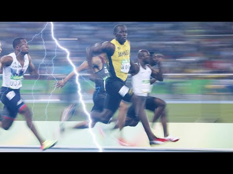What It Takes To Run The Fastest 100m Dash