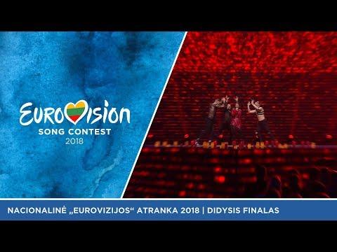 Saara Aalto - Monsters- Didysis Eurovizijos atrankų finalas 2018