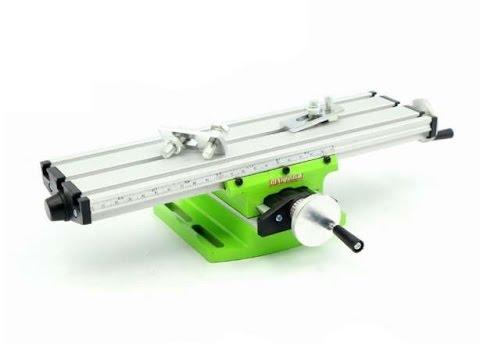 Обзор! Координатный стол для сверлильного, фрезерного станка 310x90 мм.