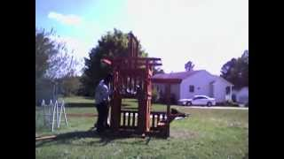 Hands 4 You Assembly Building The Meridian Wooden Swing Set