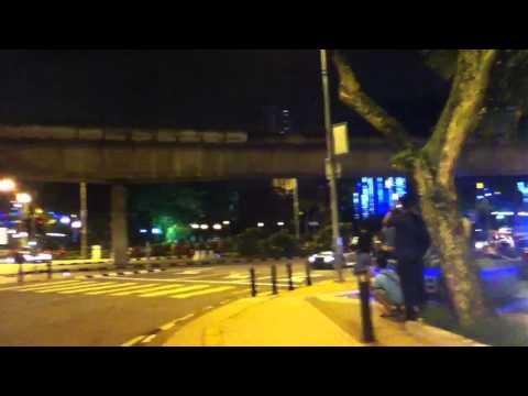 Skyline vs Police Malaysia (Evo x)