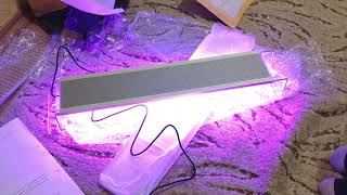 китайская RGB лампа для аквариума