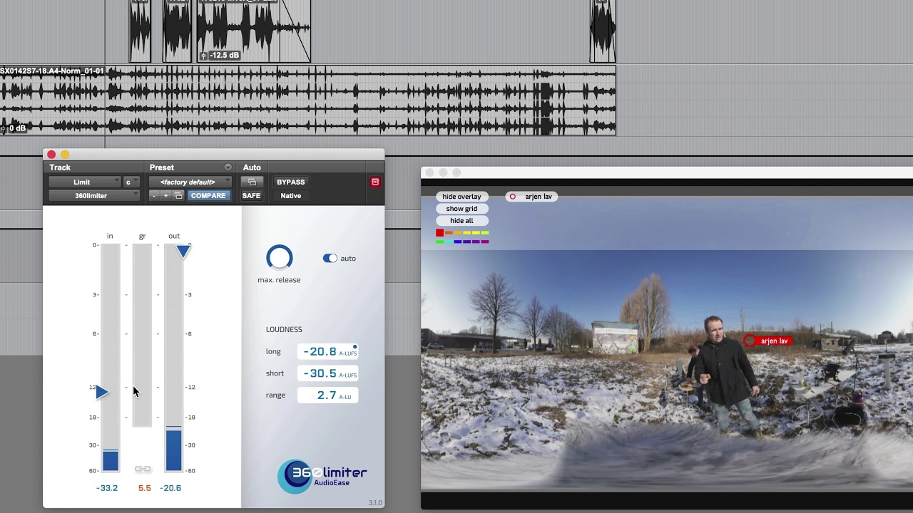 Audio Ease 360pan suite, full control over your spatial