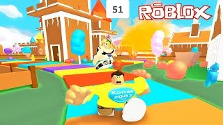 Roblox Eat or Die in Candy Land ! || Roblox Gameplay || Konas2002