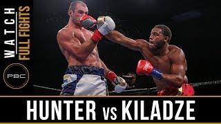 Hunter vs Kiladze FULL FIGHT: June 10, 2018 -  PBC on FS1