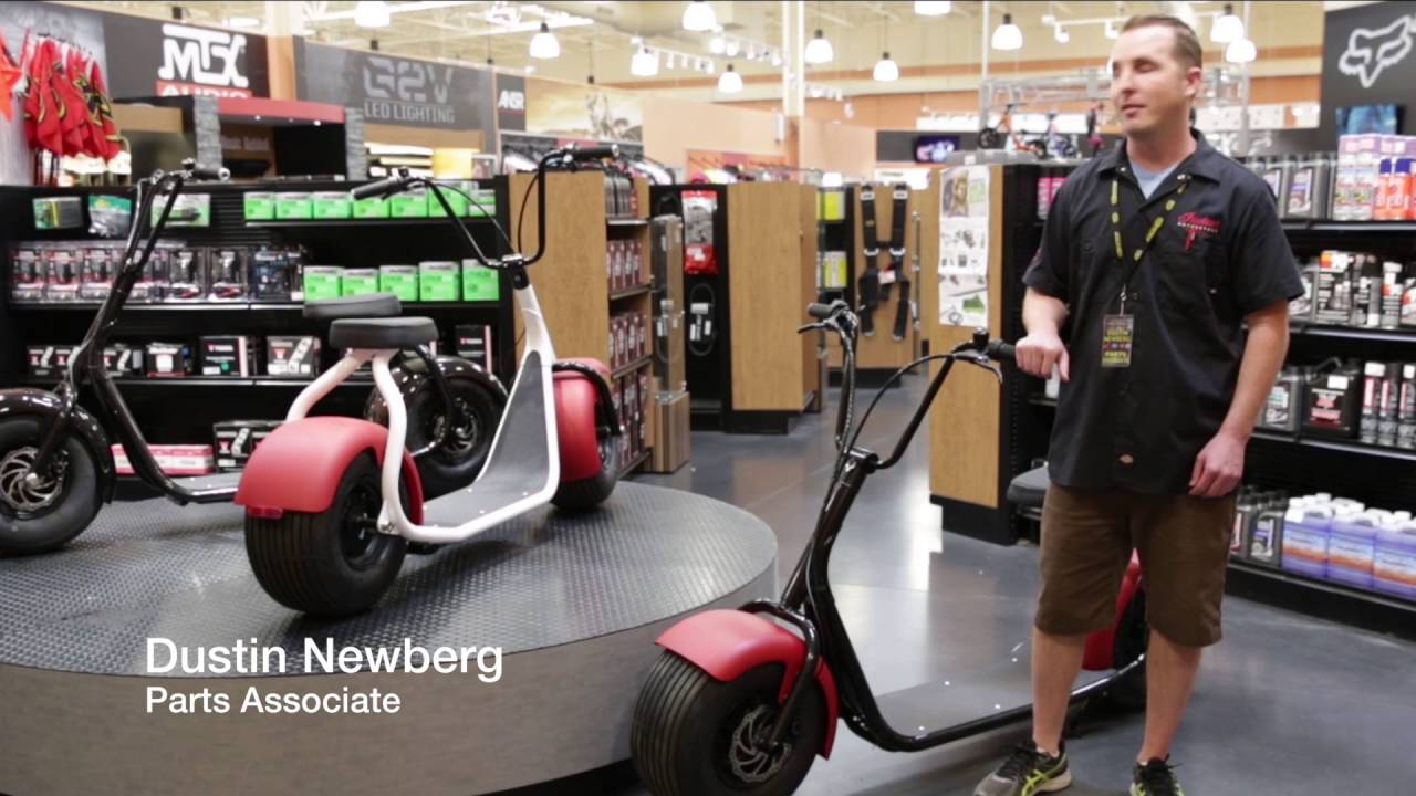 All New Fat Tire Seev 800 Electric Scooter Youtube