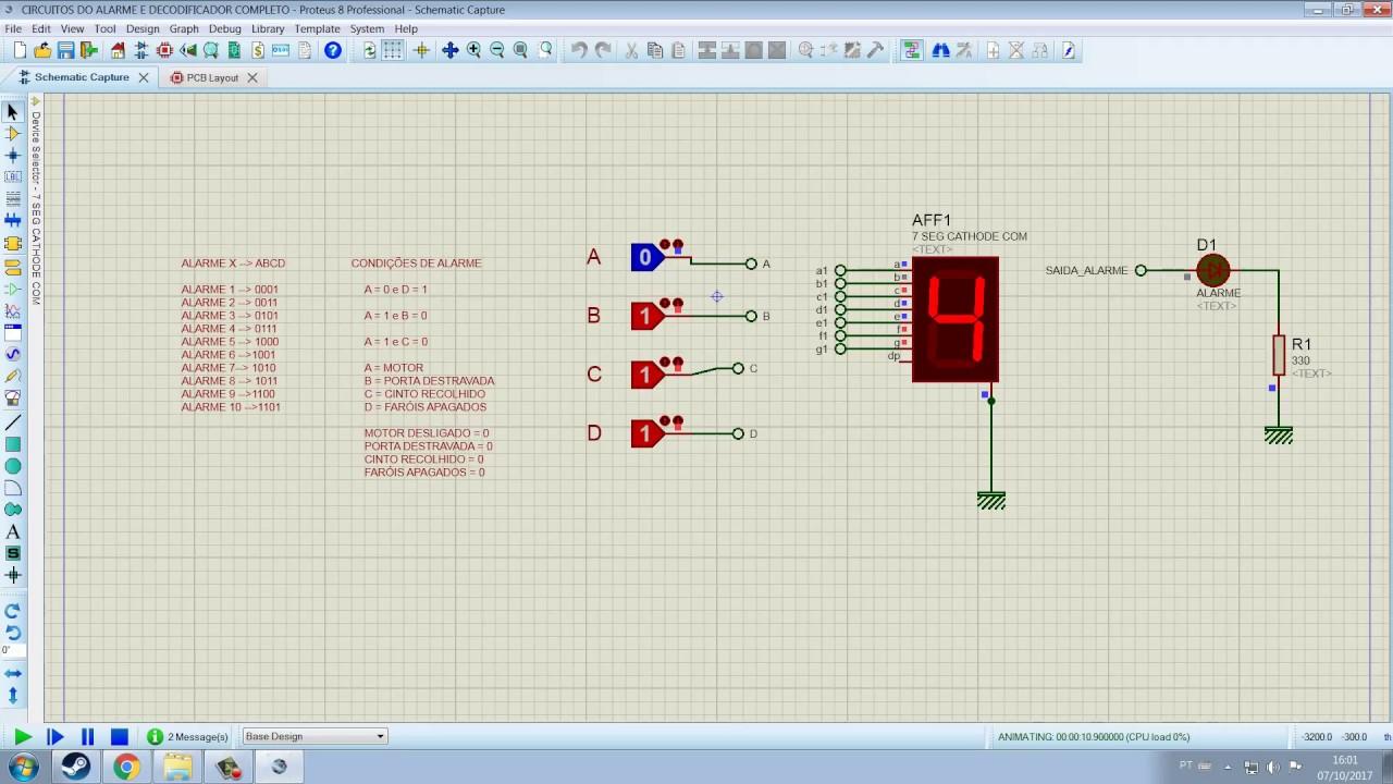 Projeto de um alarme automotivo dimensionando um decodificador projeto de um alarme automotivo dimensionando um decodificador ccuart Gallery
