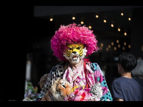 Shinjuku Tiger - Tokyo Living Legend Has Been Wearing a Tiger Mask for 45 Years
