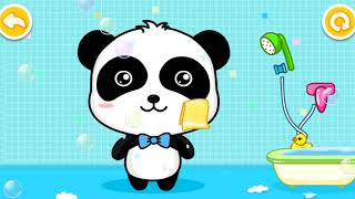 Babybus games | healthy little baby panda game | preschool learning for child games