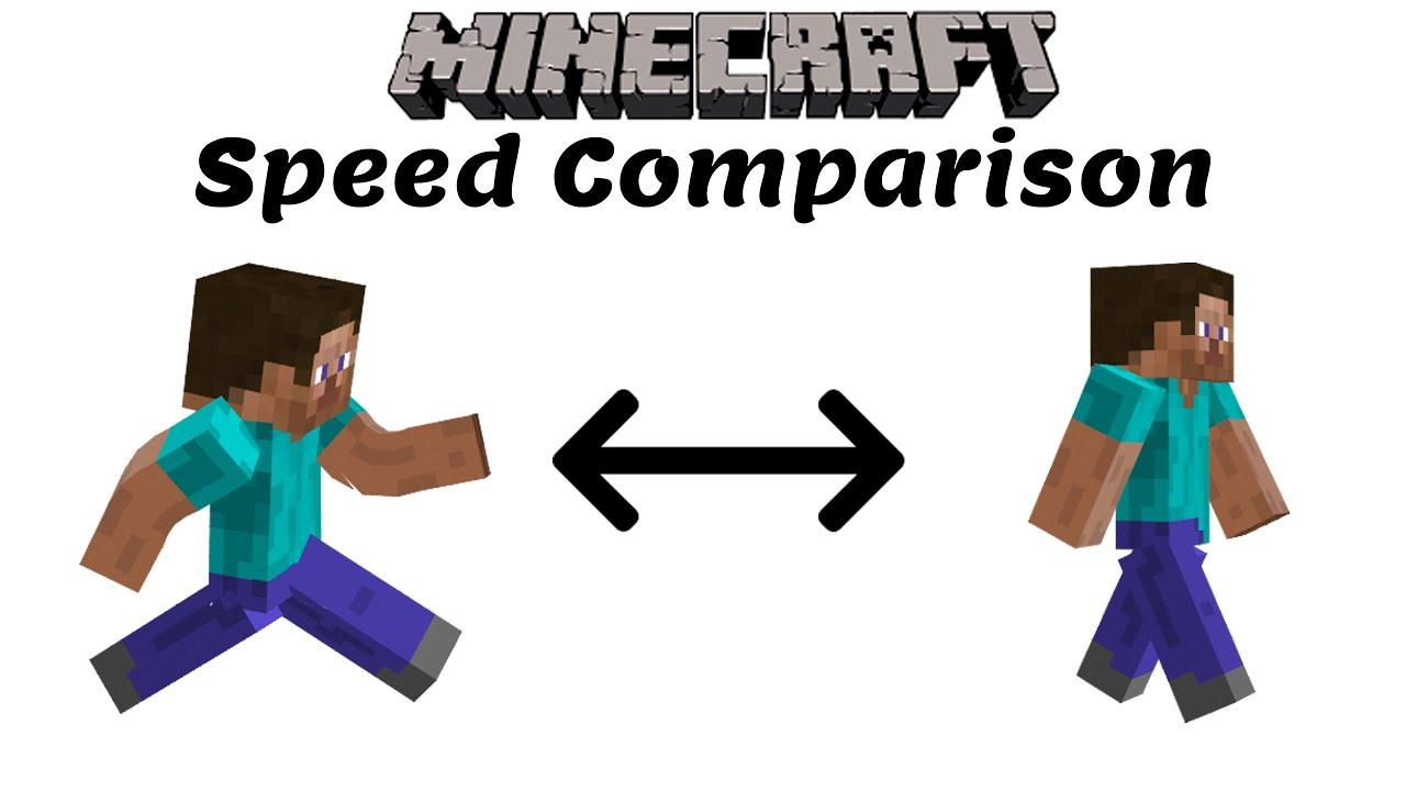 Minecraft: Speed Comparison (2020)