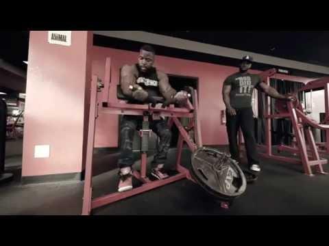 Bicep-tricep workout. Mike Rashid and Rob