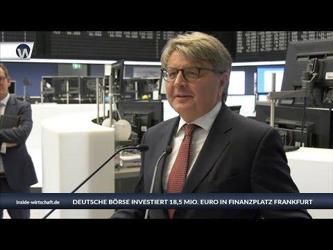 """Neuer CEO Theodor Weimer: """"Deutsche Börse investiert 18,5 Mio. Euro in Finanzplatz Frankfurt"""""""