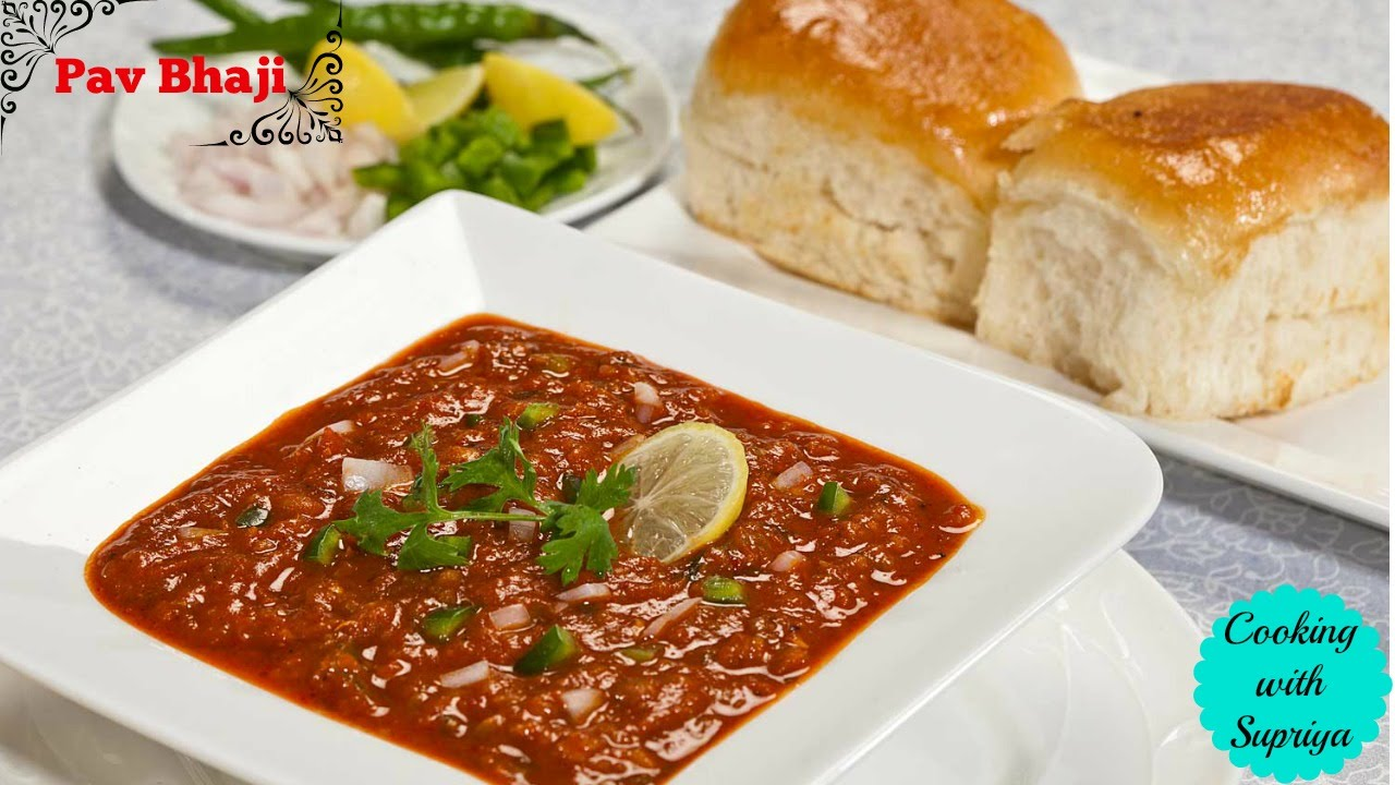 Pav bhaji recipe mumbai indian street food easy vegetarian fast pav bhaji recipe mumbai indian street food easy vegetarian fast food cookingwithsupriya youtube forumfinder Image collections