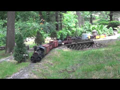 G-Scale Garden Railroad open house day