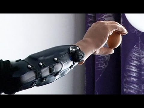 Austrian men become first in the world to use ground-breaking bionic hands