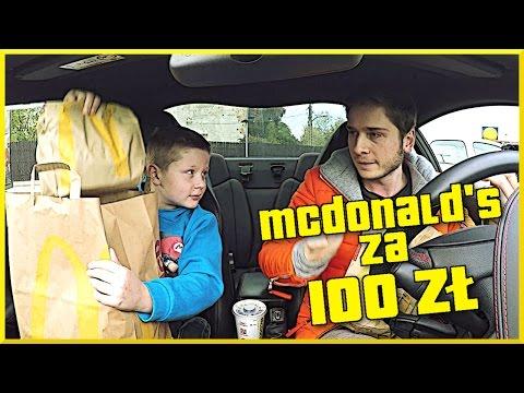 MCDONALD'S ROULETTE CHALLENGE ZA 100 ZŁ NA WSTECZNYM !!! (z Zabawy Euzebiusza)
