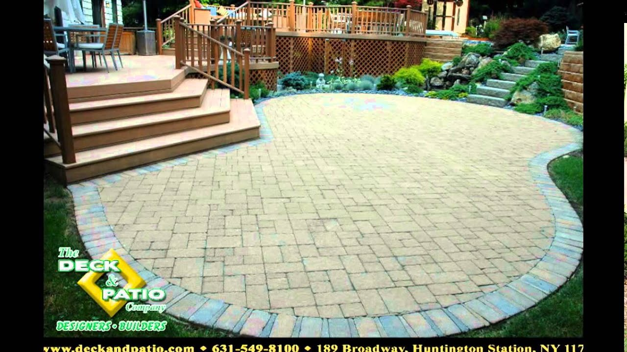 paver patio designs patio paver designs paver patio designs patterns youtube - Patio Paver Design Ideas