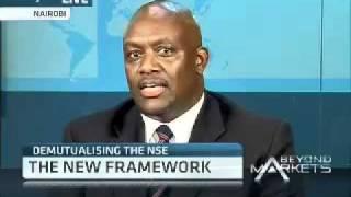 Demutualization of the Nairobi Stock Exchange with Paul Mwai