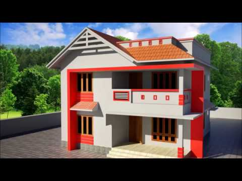 House Homes Elevation Design Home Plan Modern 3d View Kerala