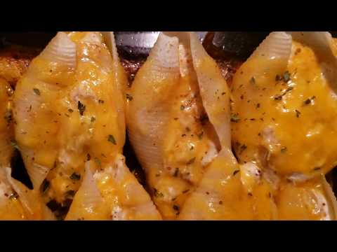 Crab Stuffed Pasta Shells