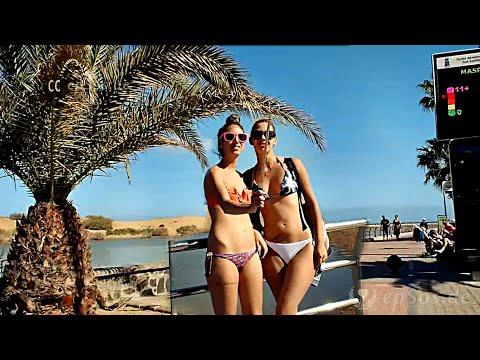 Maspalomas Beach Dunes of Gran Canaria