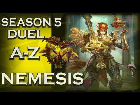 Smite: Season 5 Duel A-Z! | Nemesis | Holy Light | #60