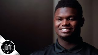 Zion Williamson on his mom coaching him: 'Hardest coach I ever had' | The Jump