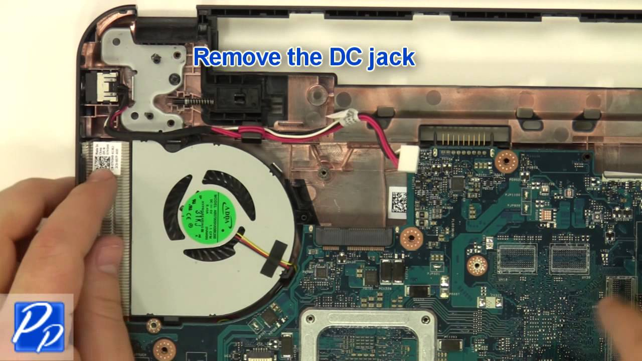 Dell Inspiron 15  3521    5521  Dc Jack Replacement Video Tutorial