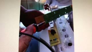 como consertar placa eletrnica da lavadora