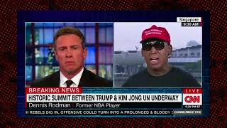 MAGA  Dennis Rodman Goes Off on Obama and Praises Trump For NK Summit
