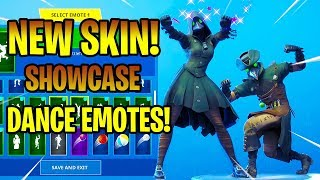 *NEW* PLAGUE & SCOURGE SKINS SHOWCASE WITH DANCE EMOTES! Fortnite Battle Royale